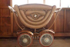 昔の乳母車