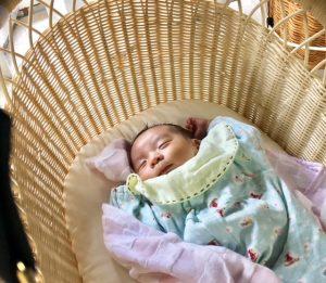 2か月の赤ちゃん